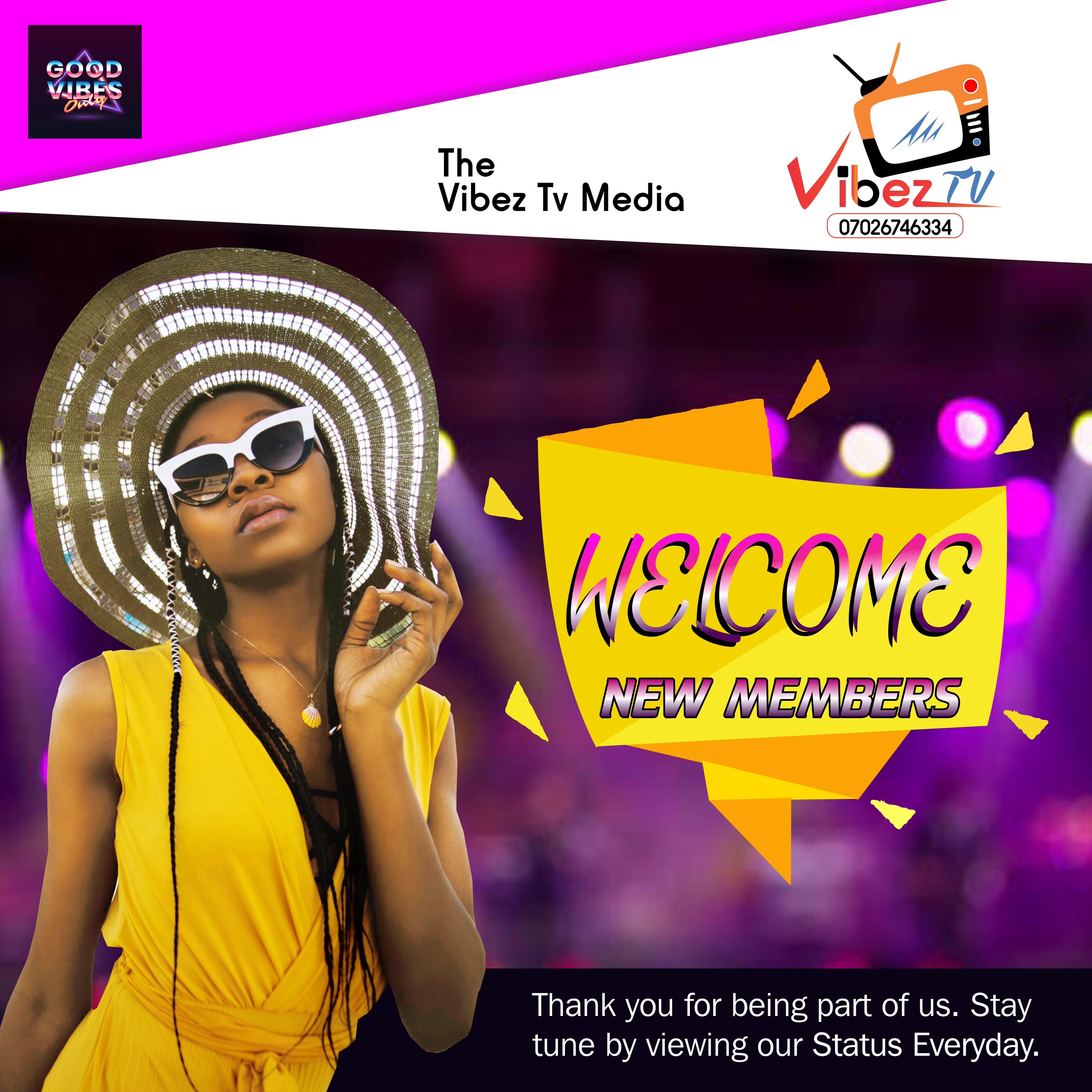 VIBES TV WELCOME 1